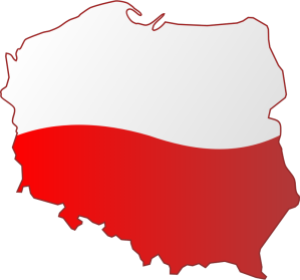 Map of Poland, openclipart.org