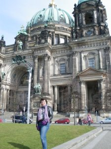 Me in front of Berliner Dom in March 2009