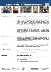 Call for application Master in Global Studies-page-001