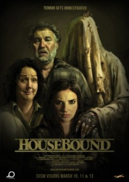 """Housebound2014horrormovieposter"" by Source (WP:NFCC#4). Licensed under Fair use via http://en.wikipedia.org"
