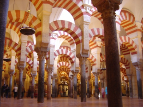 """Mosque Cordoba"" by Timor Espallargas - Own work. Licensed under CC BY-SA 2.5 via Wikimedia Commons - http://commons.wikimedia.org/"