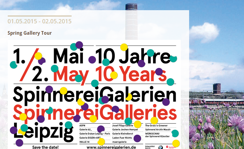 May 1-2: Spinnerei galleries in #Leipzig open wide for springtime tour, 10th edition