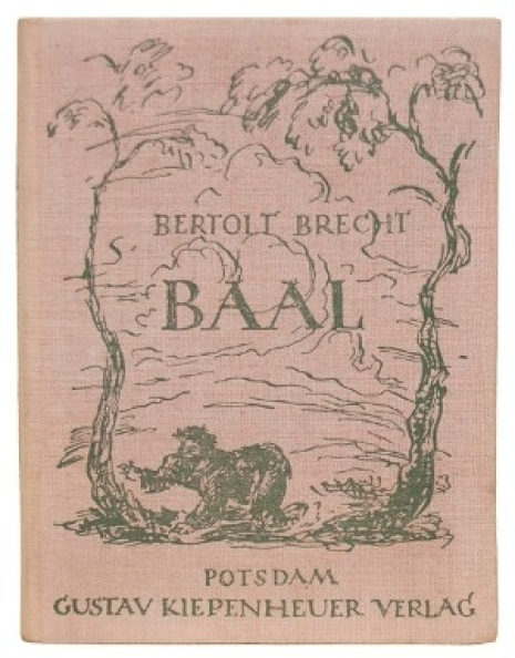 baal bertolt brecht incisive analysis play Fabel is a critical an analysis of the performance of baal by bertolt brecht term and a  analysis of the play hamlet of the play baal written by.