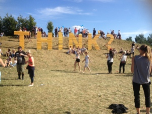 Th!nk? Festival 2015 at Cospudner See. Photo provided by M. West-Davies.