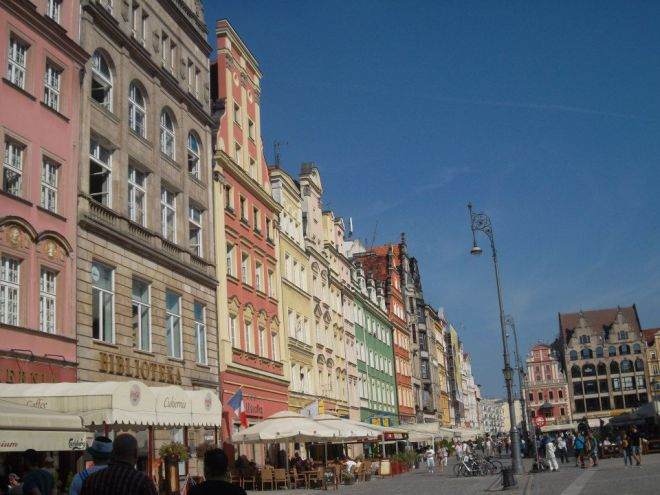 The Rynek in Wroclaw, Summer 2012. Photo by A. Ribeiro.