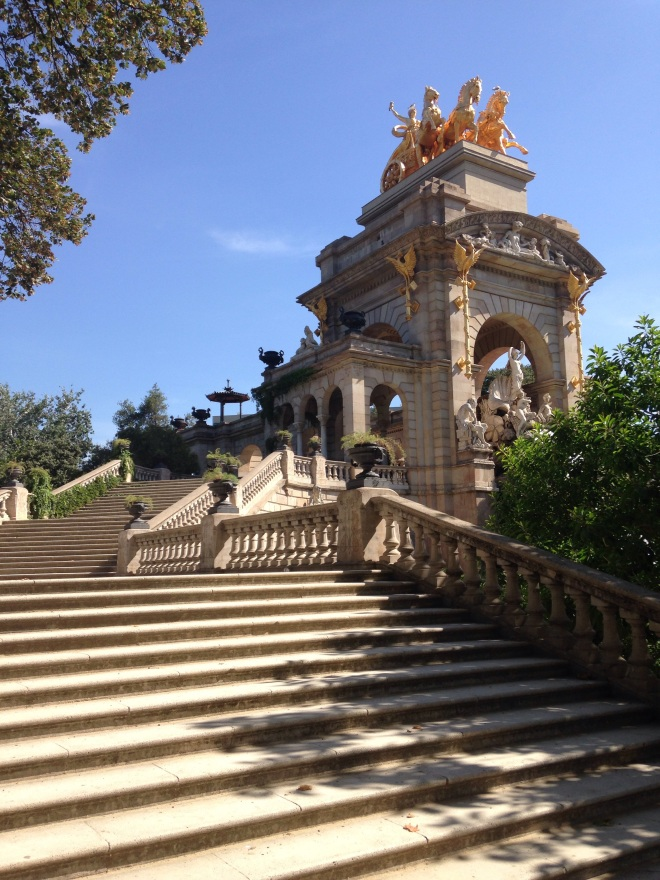 Parc de la Ciutadella, Barcelona. Photo by A. Ribeiro.