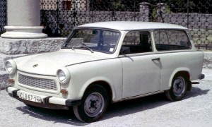 """Trabant 601 Estate"" by Charles01 - Own work. Licensed under CC BY-SA 3.0 via Wikimedia Commons."