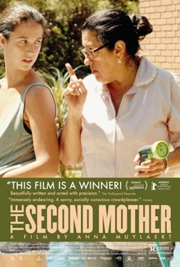 """The Second Mother"" (2015 film) poster. Licensed under Fair use via Wikipedia."